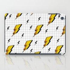 Pop art for streak of lightning iPad Case