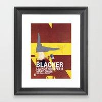 Mary Chain & Blacker Ban… Framed Art Print