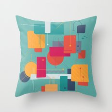 Thinking Of Summer Throw Pillow