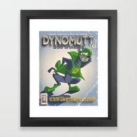 DYNOMUTT Framed Art Print