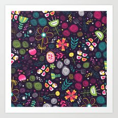 Flowers and emotions Art Print