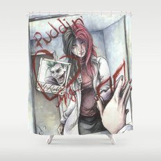 Dr. Harleen Quinzel Shower Curtain