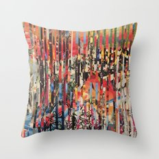 STRIPES 27 Throw Pillow