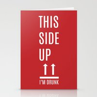 This side up Stationery Cards