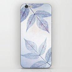 purple fall iPhone & iPod Skin