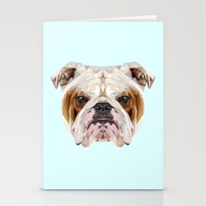 English Bulldog // Paste… Stationery Cards
