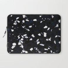 Black Terrazzo Laptop Sleeve