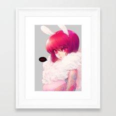 Synthetic Framed Art Print