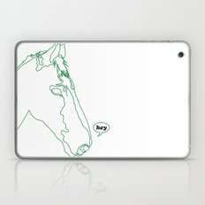 hey is for horses Laptop & iPad Skin