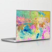 horses Laptop & iPad Skins featuring Horses  by Latidra Washington