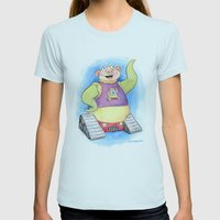 Aren't You Jealous? Womens Fitted Tee Light Blue SMALL