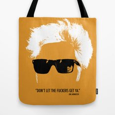Jim Jarmusch Hair Tote Bag