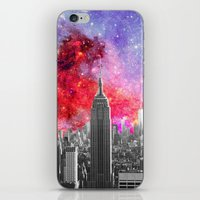 NEBULA NEW YORK iPhone & iPod Skin