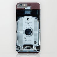 iPhone & iPod Case featuring Polaroid Land Camera by Typography Photography™