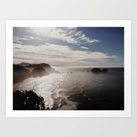 Cape Lookout Art Print