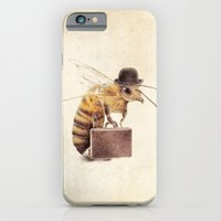 bee iPhone & iPod Cases featuring Worker Bee by Eric Fan