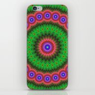 Mandala Flower Bouquet iPhone & iPod Skin