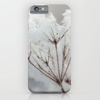 iPhone & iPod Case featuring Winter macro by moodgraphics