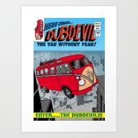 DubDevil Art Print