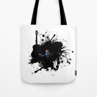 Blue Clapton Tote Bag