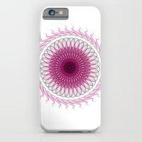 iPhone & iPod Case featuring Simple mandala model by Mi Nu Ra