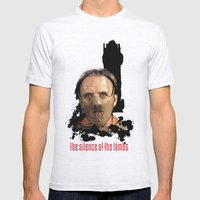 Hannibal Lecter: Monster… Mens Fitted Tee Ash Grey SMALL