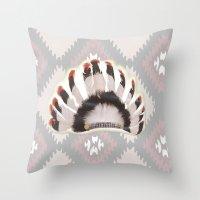 Headdress Throw Pillow