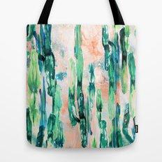 Sunset Cactus Tote Bag