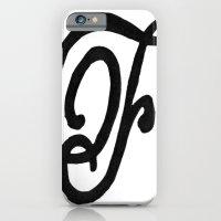 Monogrammed Letter F iPhone 6 Slim Case