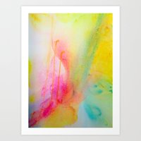 Color Field/Washes I Art Print