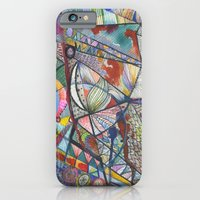 iPhone & iPod Case featuring Transmission 2 by Trudy Creen