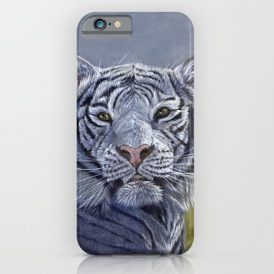 White Tiger 1207b iPhone & iPod Case