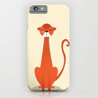 iPhone & iPod Case featuring Cat by Volkan Dalyan