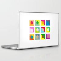 watercolour Laptop & iPad Skins featuring WaterColour by VentureDesign