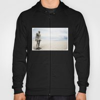 Crosby Beach Man  Hoody