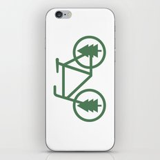 Pacific Northwest Cycling - Bike, Bicycle, Portland, PDX, Seattle, Washington, Oregon, Portlandia iPhone & iPod Skin
