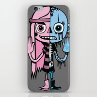 Two Halves iPhone & iPod Skin