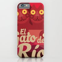 iPhone & iPod Case featuring Gato caleño by Carlos Hernandez