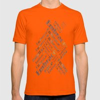 Embrace Mens Fitted Tee Orange SMALL