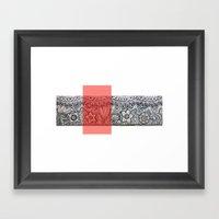 Four Sides Of A Box (iii… Framed Art Print