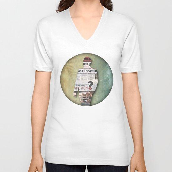 platform 1 V-neck T-shirt
