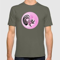 Wild Cactus RoundUp (Cir… Mens Fitted Tee Lieutenant SMALL