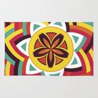 Mandala Love Pattern Rug