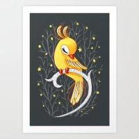 Magic Canary Art Print