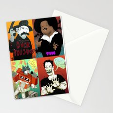 Pop mix of the some of the greats pop culture memories.  Stationery Cards