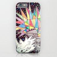 iPhone & iPod Case featuring Rhino Party by Yuka Nareta