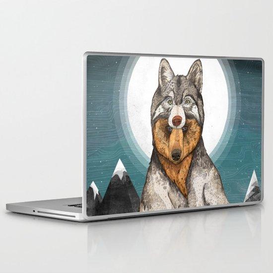 Wear Wolf Laptop & iPad Skin