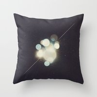 Many Moons (Between Us) Throw Pillow
