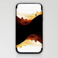 Red Wasteland  iPhone & iPod Skin