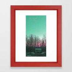 Sliver Framed Art Print